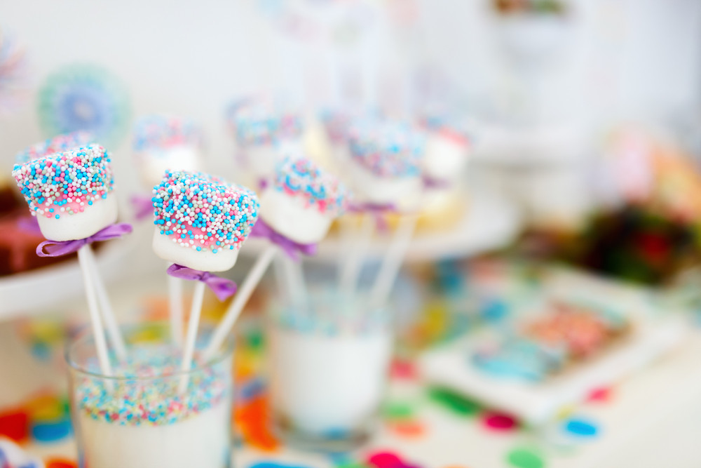 Marshmallow Snack | Süßes Fingerfood für Party