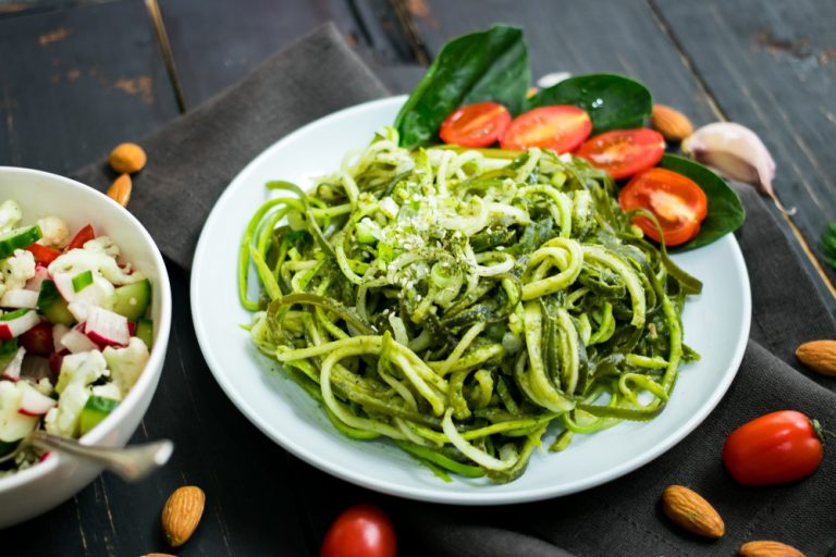 Zoodles - Vegane Zucchini Nudeln