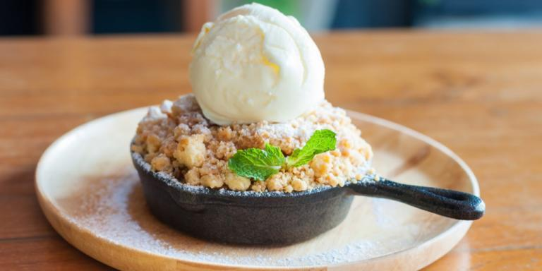 Apfel Crumble, Apple Crumble