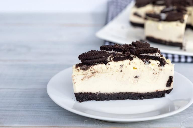 Cheesecake mit Oreo ohne Backen