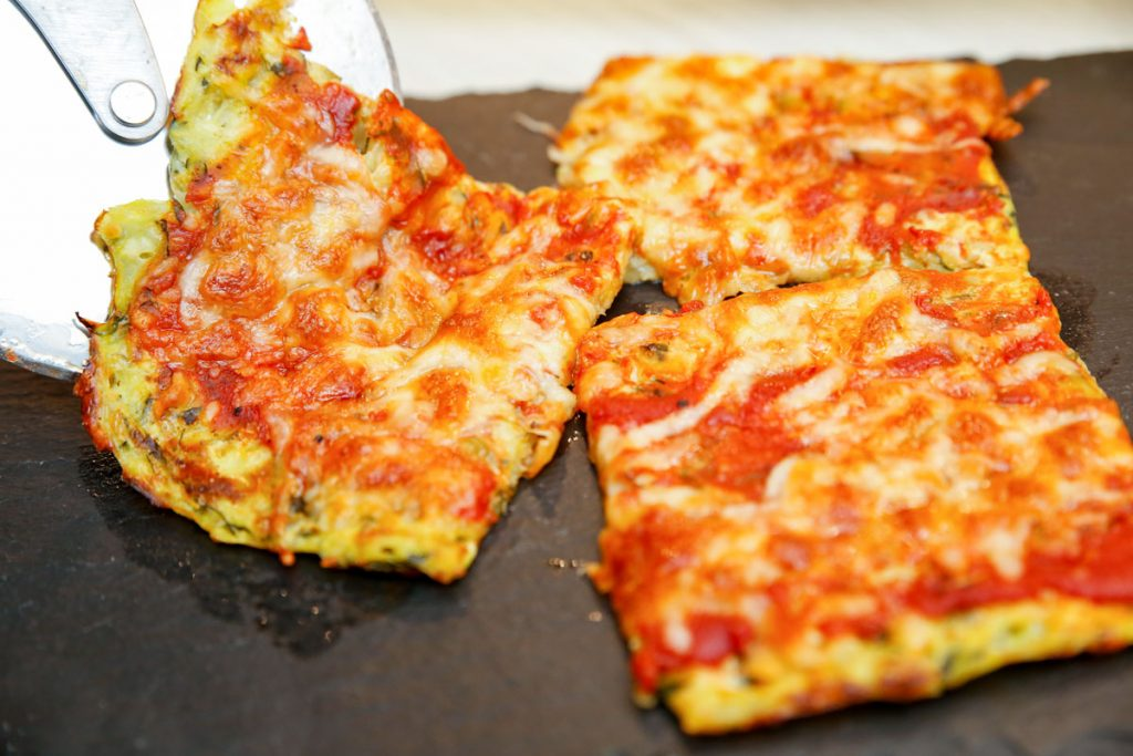 Low Carb Zucchini Pizza