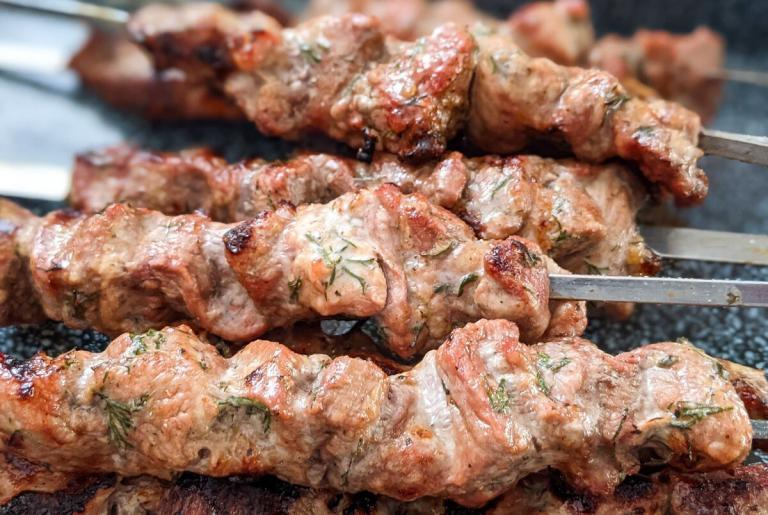 Schaschlik-in-Mayonnaise-Marinade